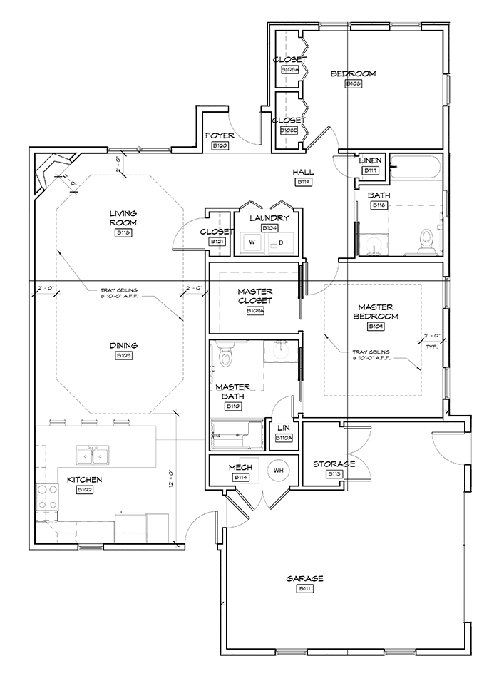 Briarwood Cottages Floor Plans